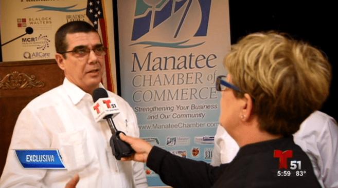 Diplomático cubano impulsa negocios en Tampa