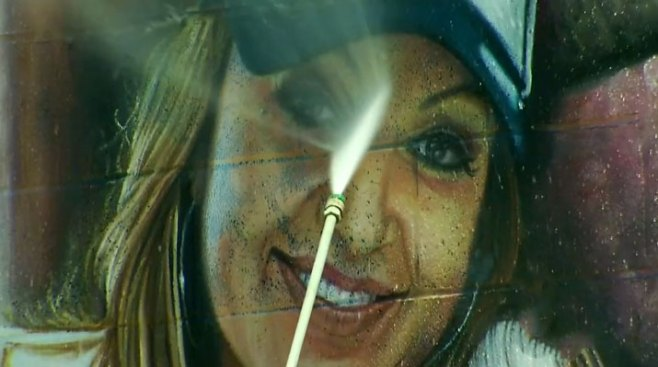 Vandalizan mural de Jenni Rivera