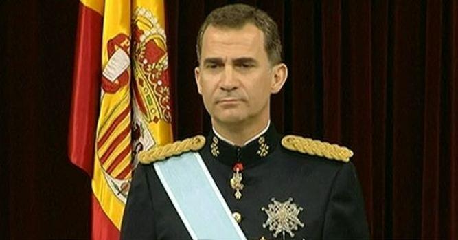Video: Así fue el 1r día de trabajo de Felipe VI