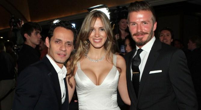Marc Anthony exhibe a su novia