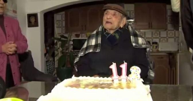 """""""Estoy loquísimo"""", dice """"el más longevo del mundo"""""""
