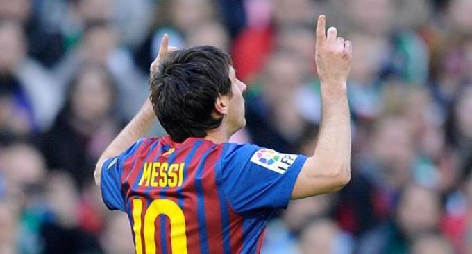 Récord histórico para Messi
