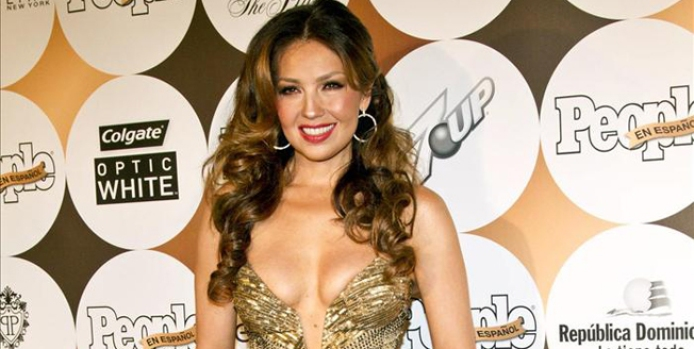 Galería: Thalía con escote de show