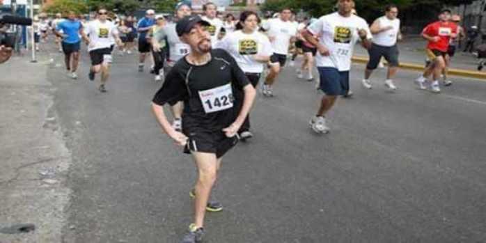 Entrevista a corredor con atrofia muscular