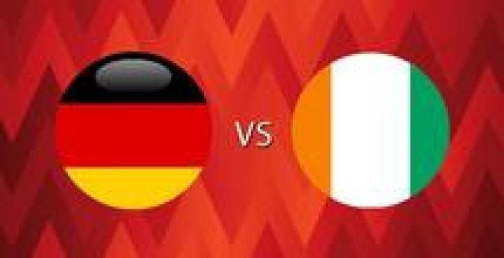En Vivo: Alemania vs. Costa de Marfil
