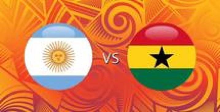 En Vivo: Argentina vs. Ghana