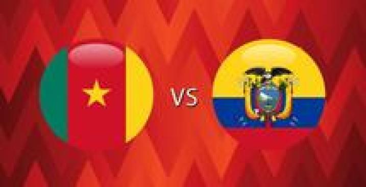 En Vivo: Camerún vs. Ecuador