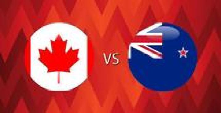 En Vivo: Canadá vs. Nueva Zelanda