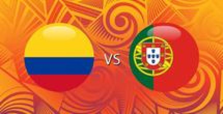 En Vivo: Colombia vs. Portugal