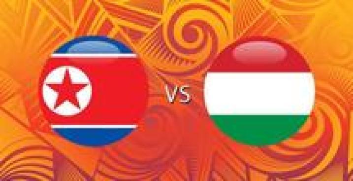 RDP de Corea vs. Hungría