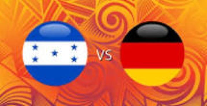 En Vivo: Honduras vs. Alemania