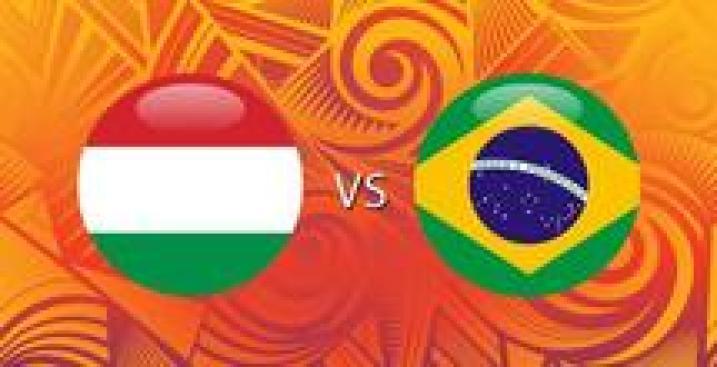 En Vivo: Hungría vs. Brasil