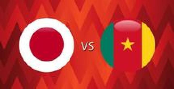 En Vivo: Japón vs. Camerún