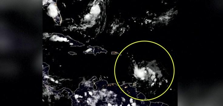 Desde el espacio: así se ve la temible tormenta Dorian