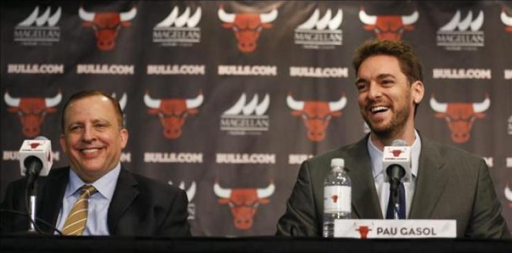 Pau Gasol, la nueva estrella de los Bulls