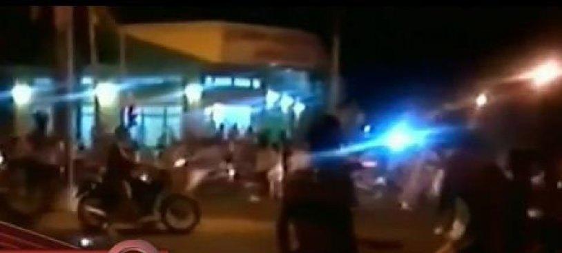 Brutal disturbio con hinchas argentinos