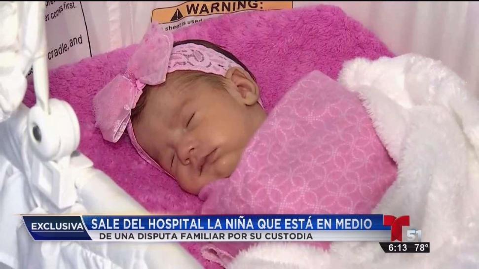 Sale del hospital bebé cuya madre falleció en el parto - Telemundo 51