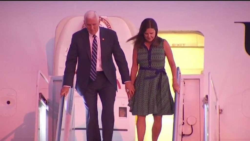 Resultado de imagen para Mike Pence,en San Diego